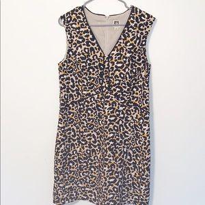 Anne Klein Saffron Leopard Print Dress